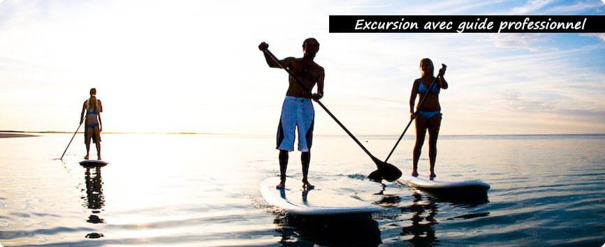 excursion paddle reunion