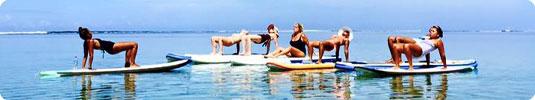 paddle yoga reunion